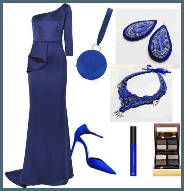 Modré elegantné šperky
