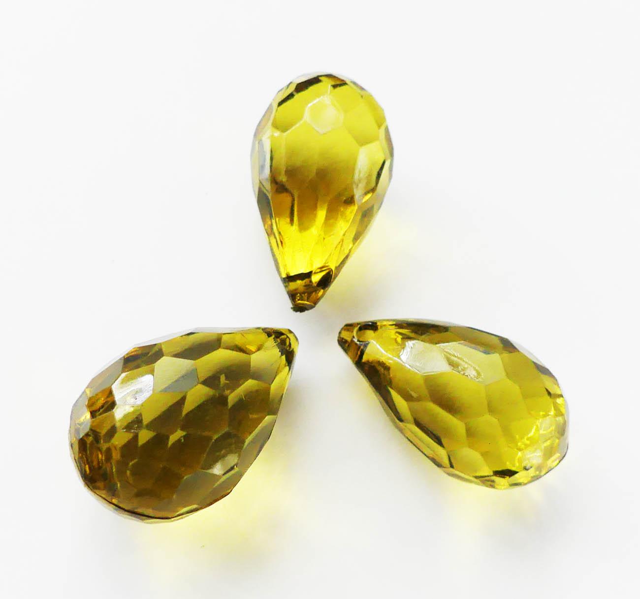 korálky olivové